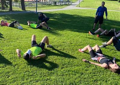 Rozcvičení a flexibilita